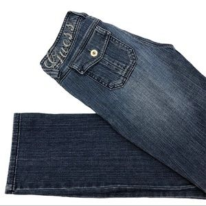 "Guess Jeans Sz 24 Inseam 28"" Straight Leg Women's"